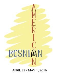 Bosnian American Postcard